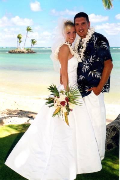 Child jumping beach waimanalo oahu hawaii rent wedding dress for Wedding dress rental hawaii